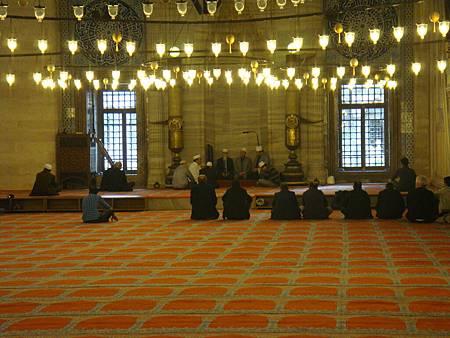 禱告中的穆斯林