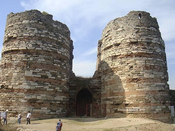 山頭的城堡