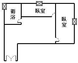 ◆小熊House【售】☆美術館河畔1+1房★(西區)