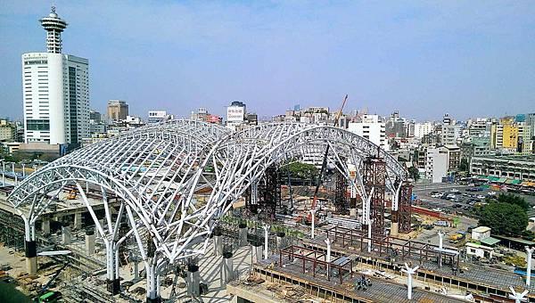 台中鐵路高架化2015年3月台中車站周邊工程.jpg