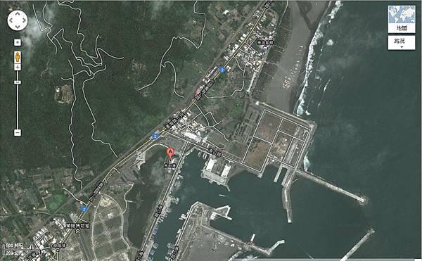 烏石港地圖