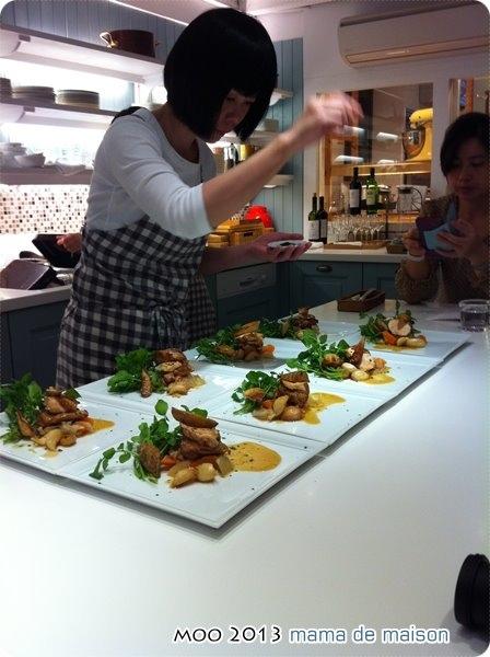 法式傳統烤雞佐蔬菜雞汁
