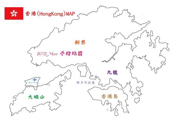 2012 香港地圖
