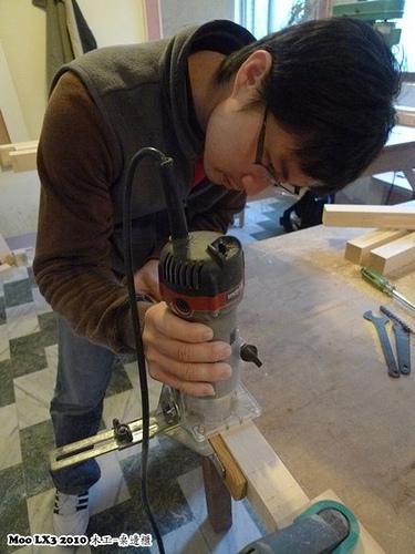 木工 床邊櫃-6