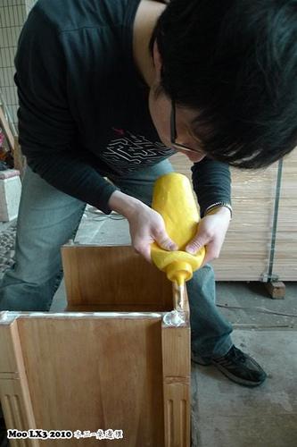 木工 床邊櫃-21
