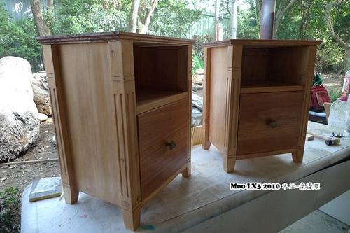 木工 床邊櫃-26