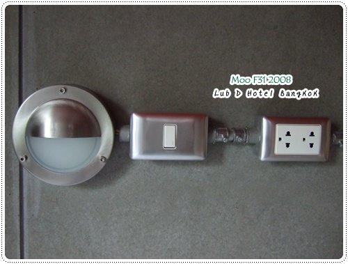 Lub d Hotel-小燈