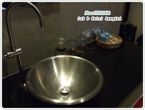 Lub d Hotel-洗手台(2)