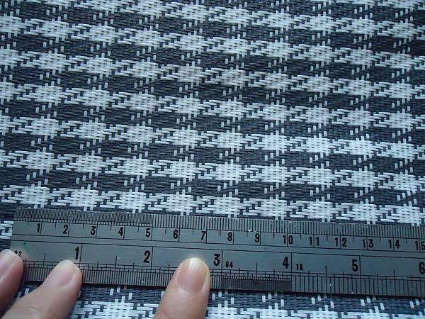 米白&灰色  千鳥格紋單層特斯林