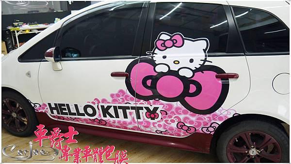 MITSUBISHI GOLT PLUS KITTY 車身彩貼
