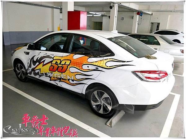 LUXGEN S3運動風格車身彩貼