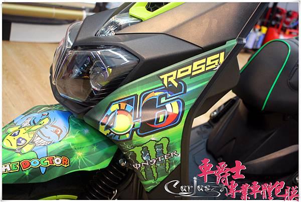 YAMAHA BWS-R  羅西46 車身彩貼