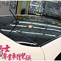 二代MAZDA3 客製化車身彩貼&類全景天窗亮黑車頂貼膜&前保桿、前下巴高亮黑改色包膜