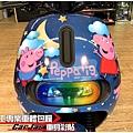 GOGORO2 客製化佩佩豬 粉紅豬小妹全車彩貼&車燈改色包膜