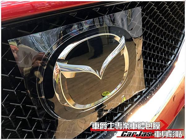 MAZDA CX-5 車標  BC柱 透明犀牛皮保護膜