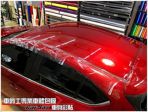 NEW MAZDA3 全車 一般PVC抗黃化透明犀牛皮保護包膜