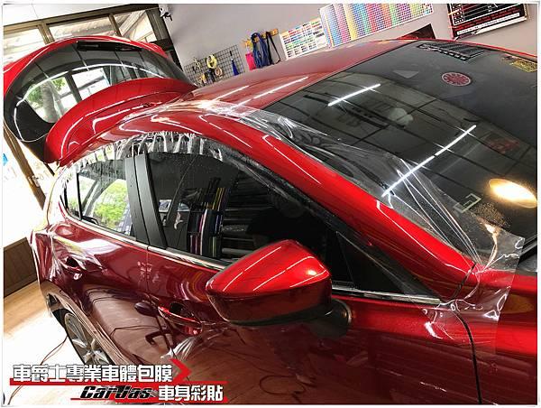 NEW MAZDA3  全車 透明犀牛皮 車漆保護膜
