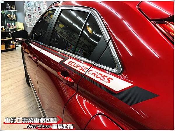 MITSUBISHI Eclipse Cross 客製化車身彩貼
