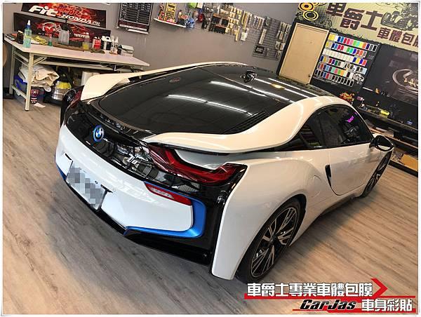 BMW i8 全車漆面 SUNTEK TPU 透明犀牛皮保護包膜