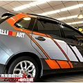 MITSUBISHI COLT PLUS 客製化 車身彩貼