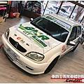 CITROEN SAXO 客製化 廠車風格 車身彩貼