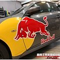 INFINITI G37S 客製化 RED BULL車身彩貼