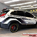 MITSUBISHI COLT PLUS 客製化 運動競技 車身彩貼 大圖輸出