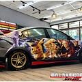 一代MAZDA3 客製化 名偵探皮卡丘 車身彩貼