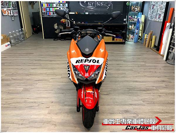 YAMAHA FORCE 客製化REPSOL 力豹仕全車彩貼
