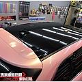 MAZDA CX-9 全車櫻花粉/高亮黑改色包膜