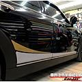 MINI CLUBMAN 客製化運動線條 車身彩貼