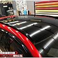 MAZDA CX-5 客製化運動線條 類全景天窗高亮黑車頂貼膜