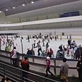 溜冰場一景