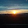 大安溪的夕陽
