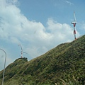 風力發電的風車