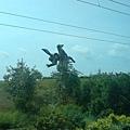 2002年的馬雕像