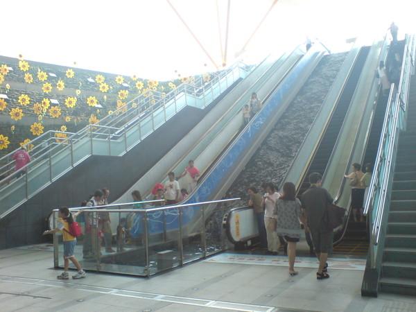 好多排樓梯