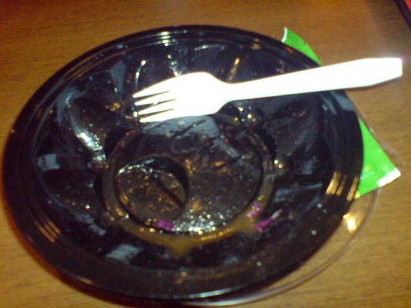 第一盤吃完