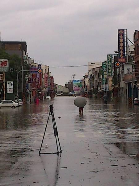 2012.5.20 淹水的仁德區