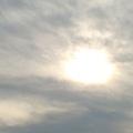 夏末最後的天空
