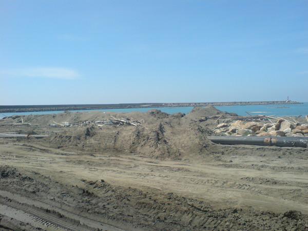 海堤沙地2