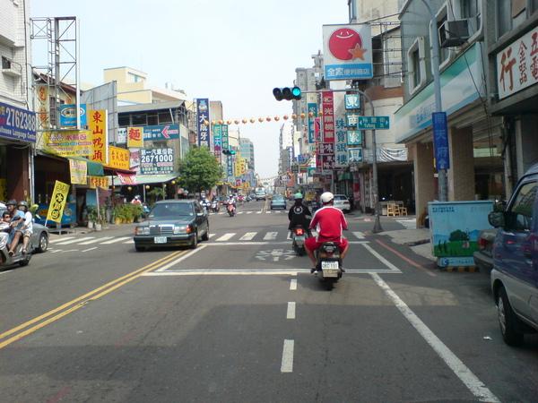交叉裕豐街