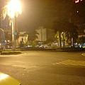 凌晨的台南市