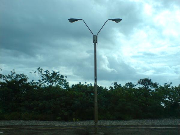 V字型路燈