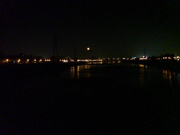 鹽水溪橋夜景