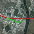 市南12 新舊線路線圖