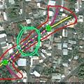 南154與南157共線段路線圖