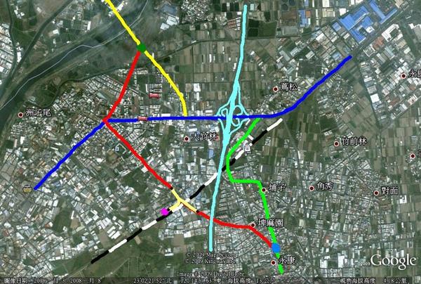 南142路線圖