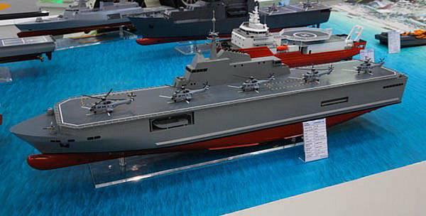 海軍國造兩棲艦亮相 會匿蹤_插圖