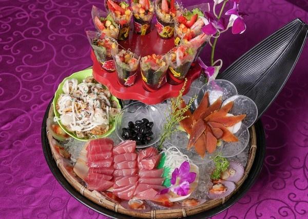 翔鴻婚宴美食吉祥如意大拼盤
